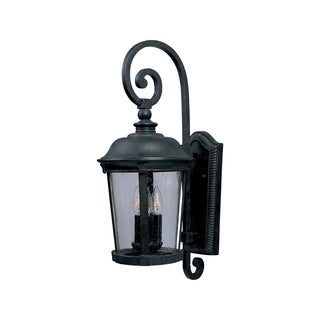 Maxim Bronze Vivex Seedy Shade Dover 3-light Outdoor Wall Mount Light