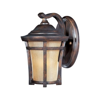 Maxim Copper Copper Vivex Golden Frost Shade Balboa VX 1-light Outdoor Wall Mount Light