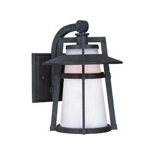 Maxim Calistoga Die Cast Satin Shade EE 1-light Outdoor Wall Mount Light