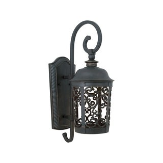 Maxim Bronze Die Cast Shade Whisper Dark Sky EE 1-light Outdoor Wall Mount Light