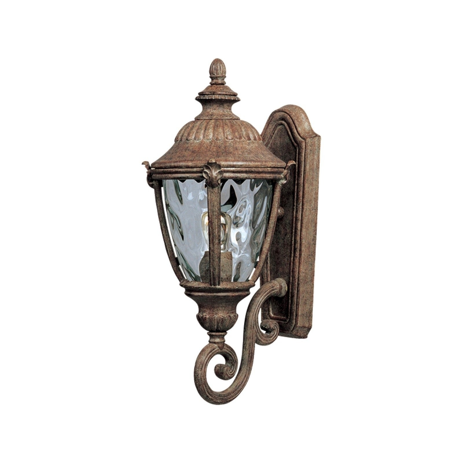 Maxim Morrow Die Cast Water Glass Shade Bay DC 1-light Outdoor Wall Mount Light (Morrow Bay Cast 1-Light Outdoor Wall Lantern)