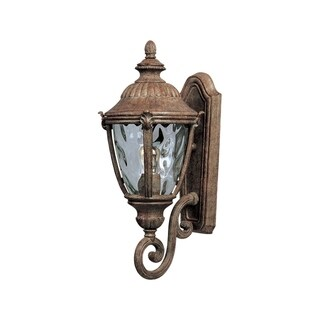 Maxim Morrow Die Cast Water Glass Shade Bay DC 1-light Outdoor Wall Mount Light