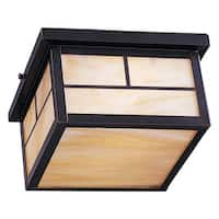 Maxim Honey Shade Coldwater 2-light Outdoor Ceiling Mount Light