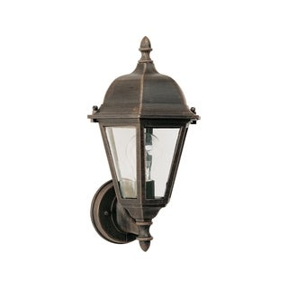 Maxim Rust Die Cast Clear Shade Westlake 1-light Outdoor Wall Mount Light
