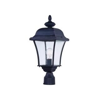 Maxim Aluminium Shade Senator 1-light Outdoor Pole/ Post Mount Light