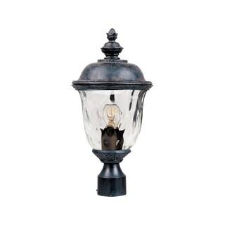Maxim Bronze Metal Shade Carriage House VX 1-light Outdoor Pole/ Post Mount Light
