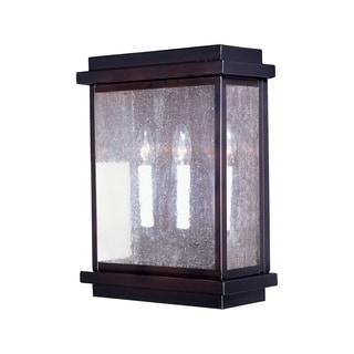 Maxim Shade Cubes 3-light Outdoor Wall Mount Light
