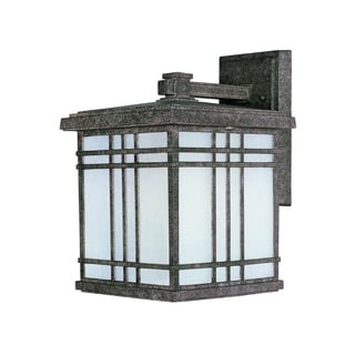 Maxim Seedy Shade Sienna EE Die Cast Frosted 1-light Outdoor Wall Mount Light