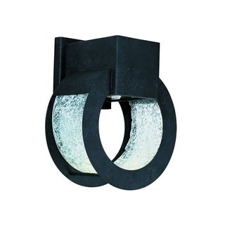 Maxim Black Metal Shade Opus LED 1-light Outdoor Wall Mount Light