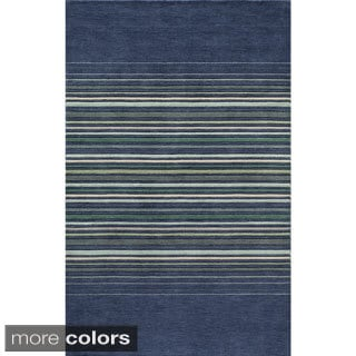 Loft Stripes Hand-Loomed Wool Area Rug (3'6 x 5'6)