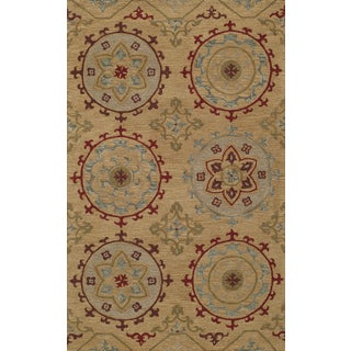 Global Cormac Hand-tufted Wool Area Rug (3'6 x 5'6)