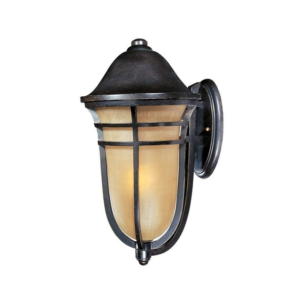 Maxim Bronze Vivex Mocha Cloud Shade Westport VX 1-light Outdoor Wall Mount Light  sc 1 st  Overstock.com : vivex lighting - azcodes.com