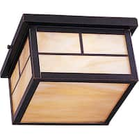 Maxim Honey Shade Coldwater EE 2-light Outdoor Ceiling Mount