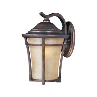 Maxim Copper Vivex Golden Frost Shade Balboa Vx 1-light Outdoor Wall Mount
