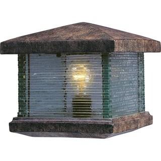 Maxim Vivex Clear Shade Triumph Vx Deck Lantern 1-light Outdoor Deck Lantern