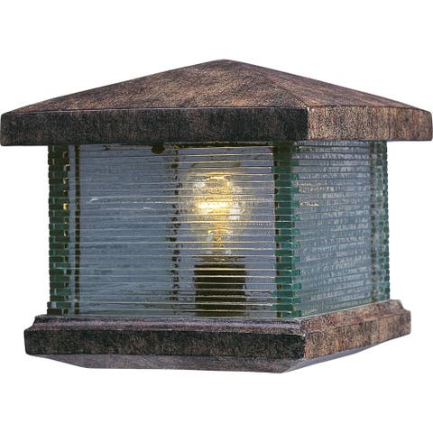 Maxim Vivex Clear Shade Triumph Vx Deck Lantern 1-light Outdoor Deck Lantern