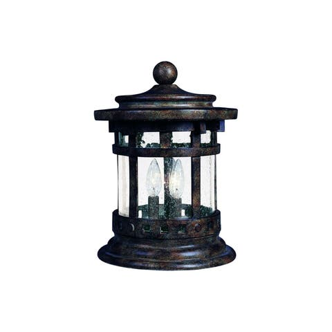 Maxim Die Cast Seedy Shade Santa Barbara Dc Deck Lantern 3-light Outdoor Deck Lantern