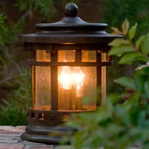 Maxim Vivex Seedy Shade Santa Barbara Vx Deck Lantern 3-light Outdoor Deck Lantern