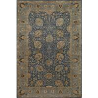 Momeni Zarin Blue Hand-Tufted Wool Rug (3'6 X 5'6)