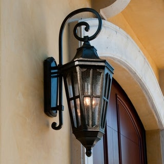 Maxim Vivex Seedy Shade Beacon Hill Vx 3-light Outdoor Wall Mount
