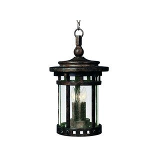 Maxim Die Cast Seedy Shade Santa Barbara Dc 3-light Outdoor Hanging Lantern