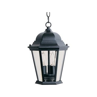 Maxim Die Cast Clear Shade Westlake 3-light Outdoor Hanging Lantern