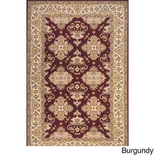 Momeni Persian Garden Burgundy NZ Wool Rug
