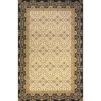 Momeni Persian Garden Charcoal NZ Wool Rug