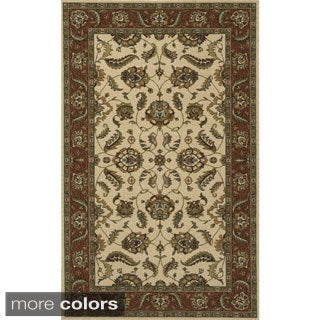 Royal Persian Hand-finished Floral New Zealand Wool Area Rug (3' x 5')