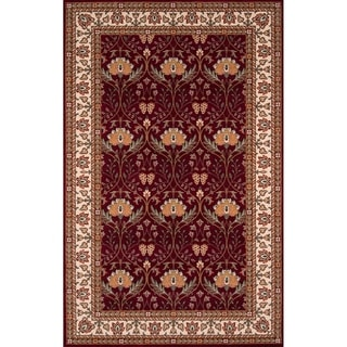 Momeni Persian Garden Burgundy NZ Wool Rug (3' X 5')