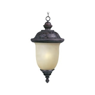 Maxim Bronze Die Cast Mocha Shade Carriage House EE 1-light Outdoor Hanging Lantern