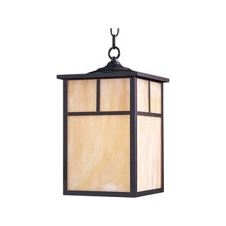 Maxim Honey Shade Coldwater 1-light Outdoor Hanging Lantern