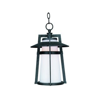 Maxim Die Cast Satin Shade Calistoga 1-light Outdoor Hanging Lantern