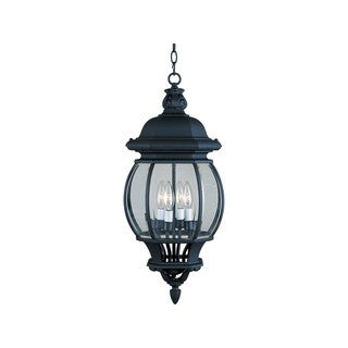 Maxim Die Cast Clear Shade Crown Hill 4-light Outdoor Hanging Lantern