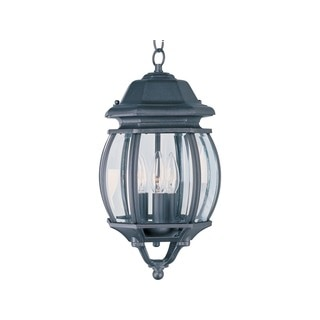 Maxim Die Cast Clear Shade Crown Hill 3-light Outdoor Hanging Lantern