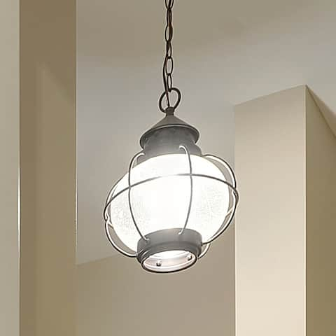 Maxim Bronze Seedy Shade Portsmouth 1-light Outdoor Hanging Lantern