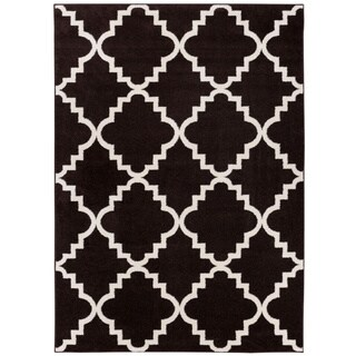 Well Woven Modern Geometric Trellis Area Rug