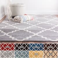 Well Woven Bright Trendy Twist Iron Trellis Lattice Rug (3'3 x 4'7)