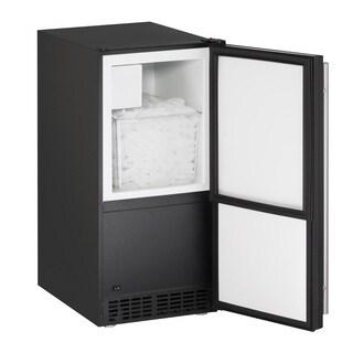 U-Line ADA Series- 15 Inch ADA Compliant Crescent Ice Maker in Black