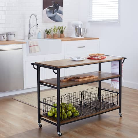 Buy Kitchen Carts Online at Overstock.com | Our Best Kitchen ... on