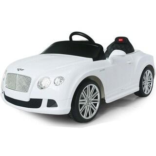 Rastar Bentley GTC 12v Remote Control Ride On (Option: White)
