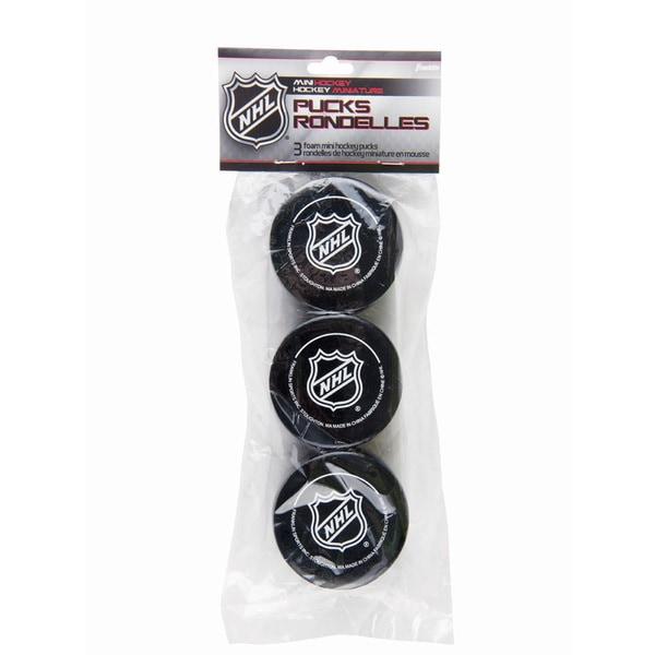 Franklin Sports NHL Foam Mini Hockey Pucks