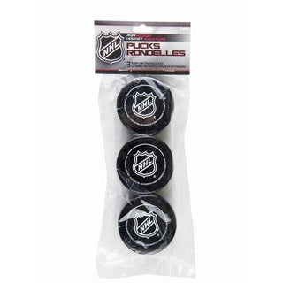Franklin Sports NHL Foam Mini Hockey Pucks