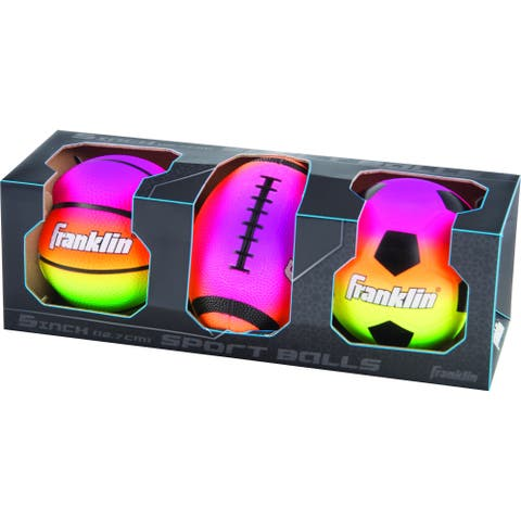 Franklin Sports Micro 3 Ball Set