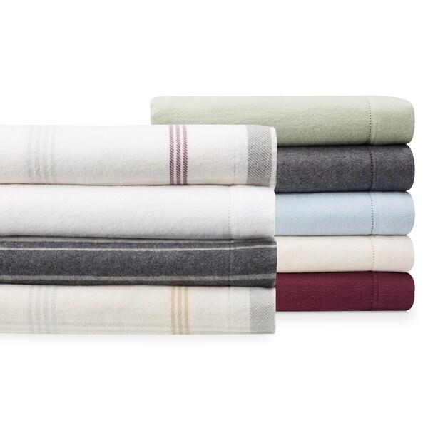 Luxury German Flannel Ultra-soft / Heavyweight 6-ounce Hemstitch Sheets