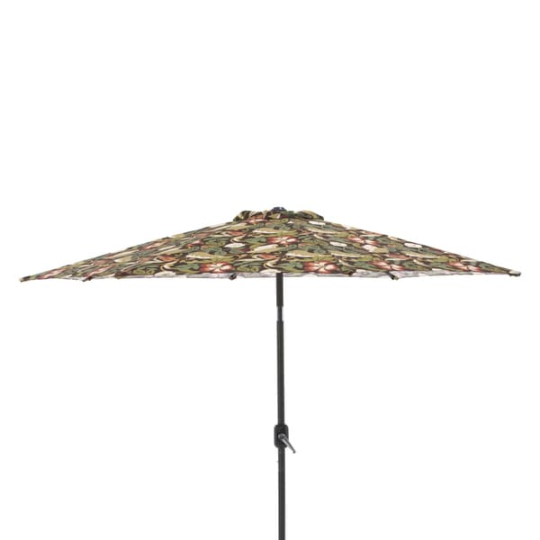 Pillow Perfect Coventry Brown 9 Foot Patio Market Umbrella