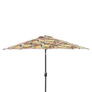 Pillow Perfect Clemens Noir 9-foot Patio Market Umbrella