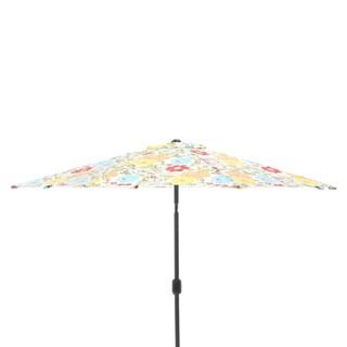 Pillow Perfect Spring Bling Multi 9-foot Patio Market Umbrella