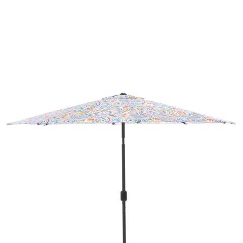 Pillow Perfect Ummi Multi 9-foot Patio Market Umbrella
