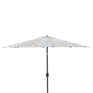 Pillow Perfect Ummi Multi 9-foot Patio Market Umbrella